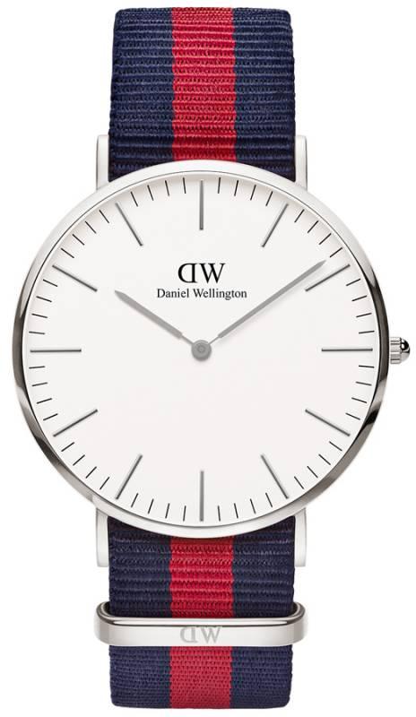 Daniel Wellington ρολόι Classic Oxford Silver 40,00mm 0201DW 0201DW Ατσάλι