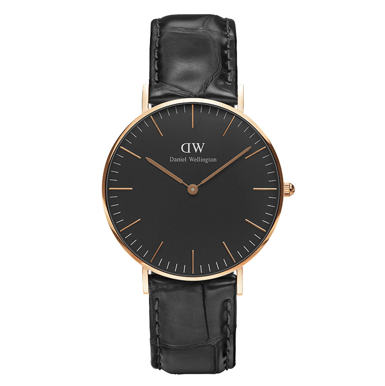 Ρολόι Daniel Wellington Black Edition Classic Reading 36,00mm DW00100141 DW00100141 Ατσάλι
