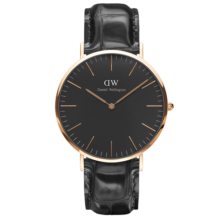 Ρολόι Daniel Wellington 40,00 mm Black Edition Classic Reading DW00100129 DW00100129 Ατσάλι