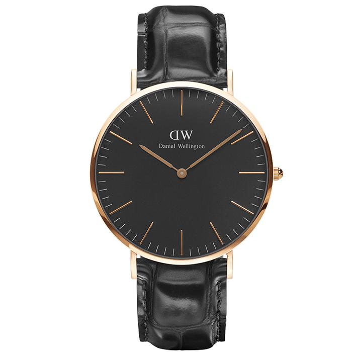 Ρολόι Daniel Wellington 40,00 mm Black Edition Classic Reading DW00100129 DW00100129 Ατσάλι
