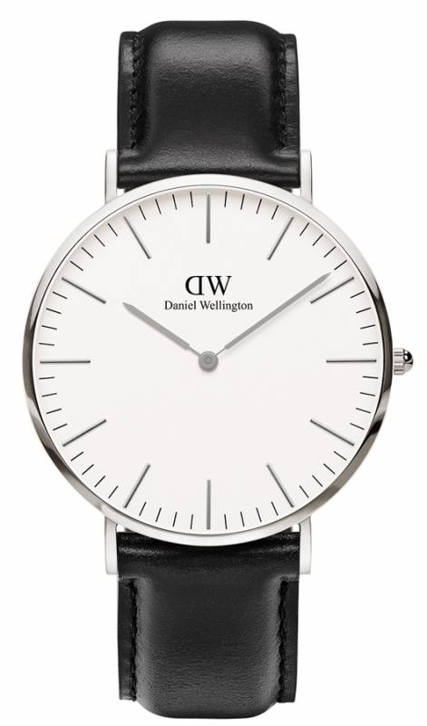 Daniel Wellington ρολόι Classic Sheffield Silver 40,00mm 0206DW 0206DW Ατσάλι