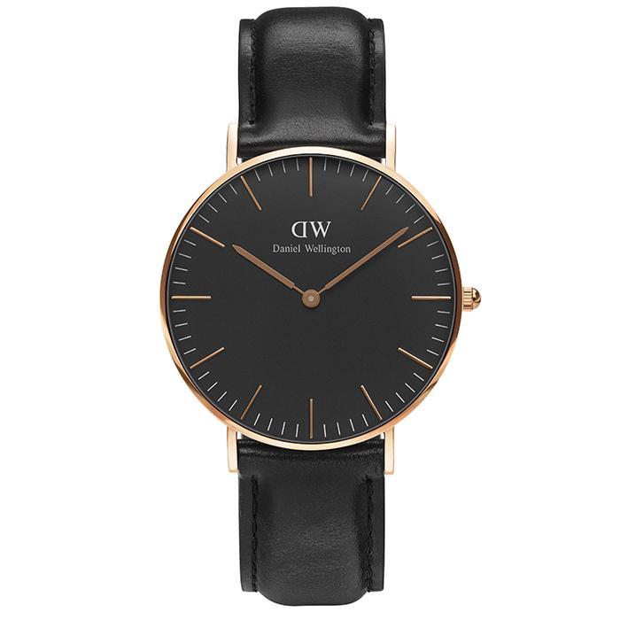 Ρολόι Daniel Wellington Black Edition Classic Sheffield 36,00mm DW00100139 DW00100139 Ατσάλι