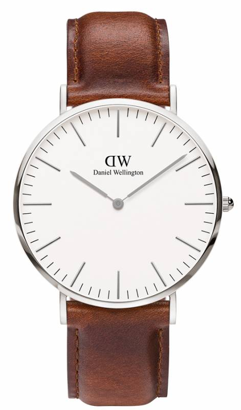 Ρολόι Daniel Wellington Classic St Mawes Silver 40,00mm 0207DW 0207DW Ατσάλι