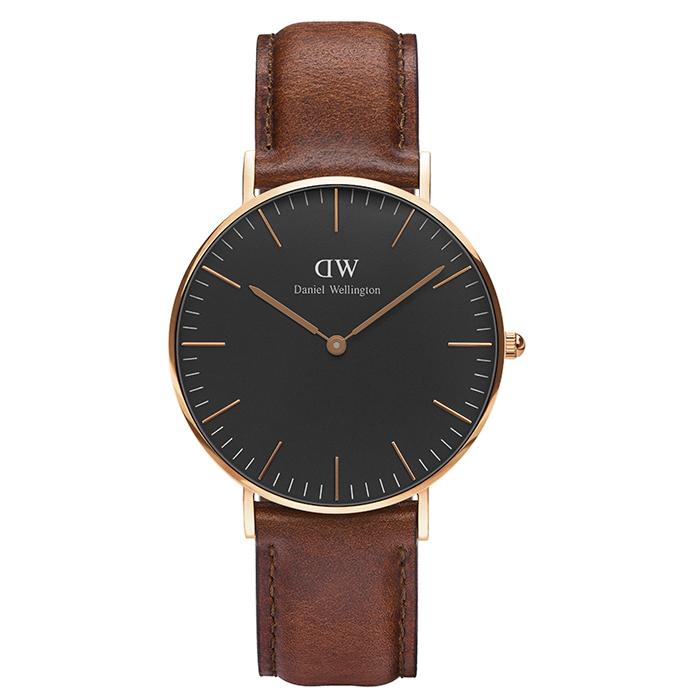 Ρολόι Daniel Wellington Classic St Mawes Rose gold DW00100136 DW00100136 Ατσάλι