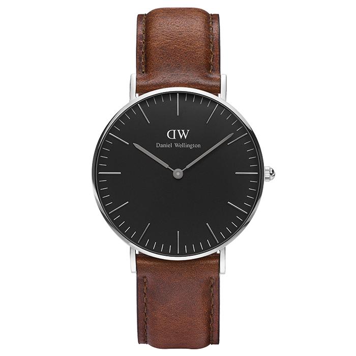 Ρολόι γυναικείο Daniel Wellington Classic St Mawes Silver DW00100142 DW00100142 Ατσάλι