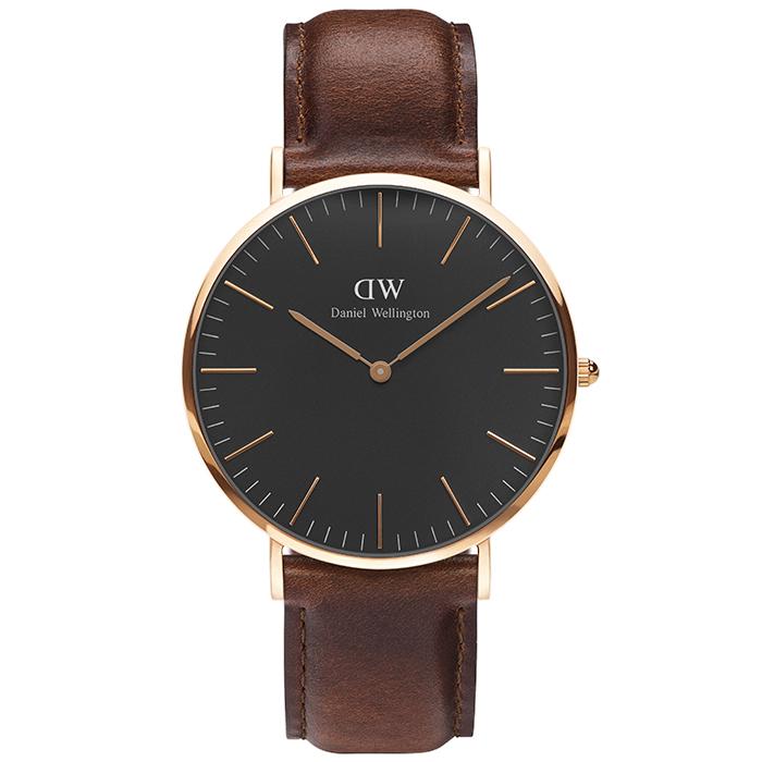 Daniel Wellington ρολόι Classic St Mawes Rose gold 40,00mm DW00100124 DW00100124 Ατσάλι