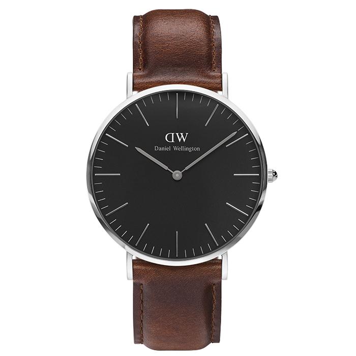 Ρολόι Daniel Wellington Silver Classic St Mawes 40,00mm DW00100130 DW00100130 Ατσάλι