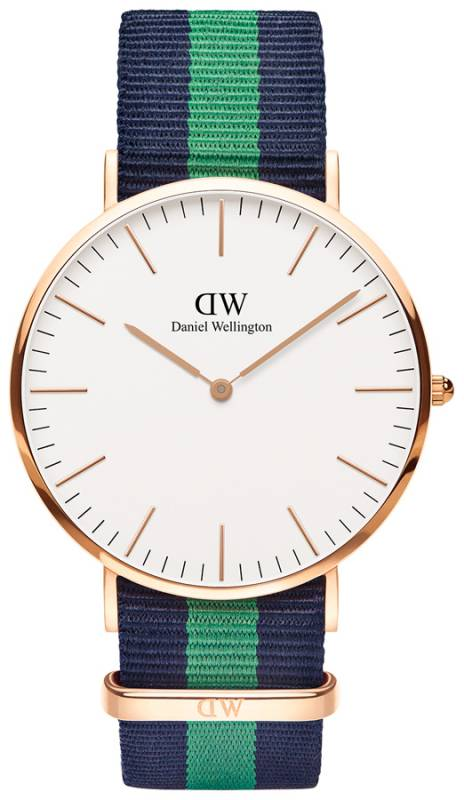 Ρολόι Daniel Wellington Classic Warwick Rose gold 40,00mm 0105DW 0105DW Ατσάλι