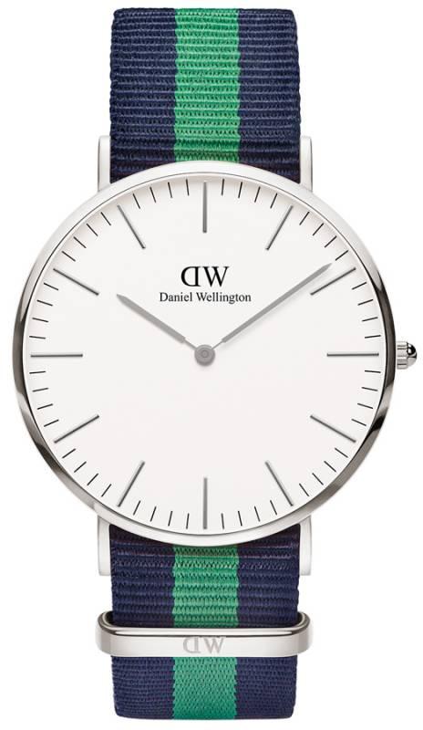 Ρολόι Χειρός Daniel Wellington Classic Warwick Silver 40,00mm 0205DW 0205DW Ατσάλι