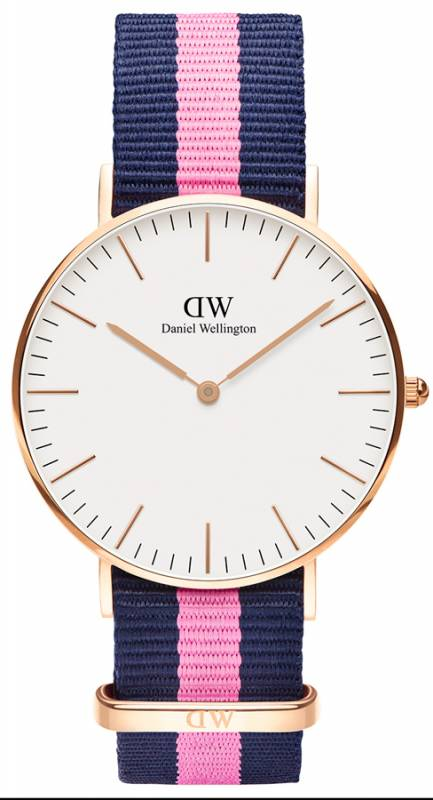 Daniel Wellington γυναικείο ρολόι Classic Winchester Rose gold 36,00mm 0505DW 0505DW Ατσάλι