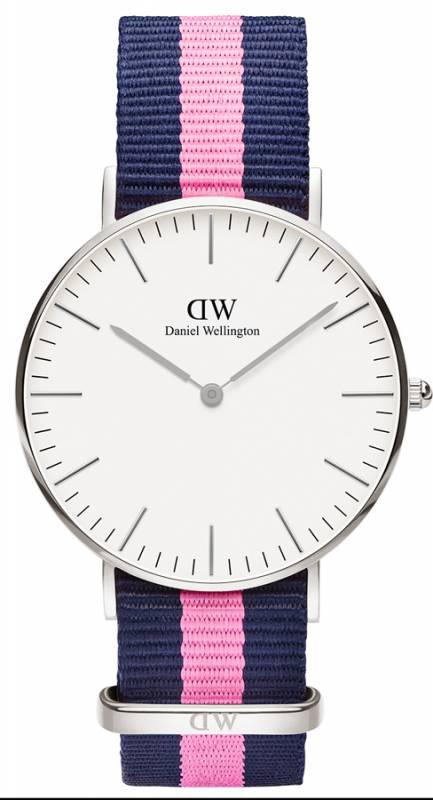 Daniel Wellington ρολόι Classic Winchester Silver 36,00mm 0604DW 0604DW Ατσάλι