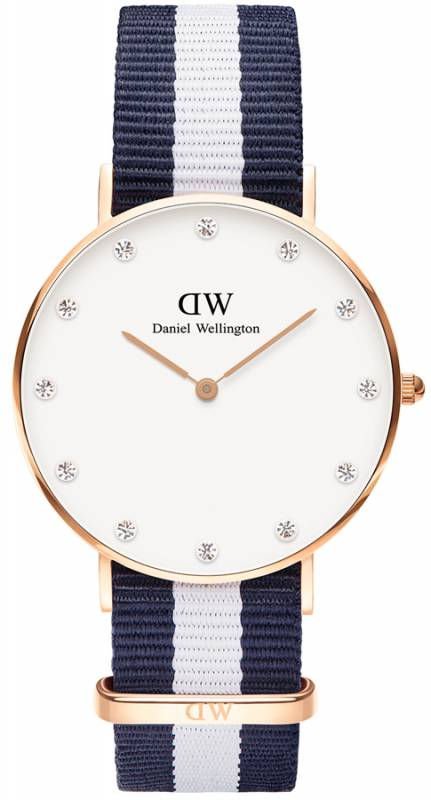 Γυναικείο ρολόι Daniel Wellington Glasgow Rose gold 34,00mm 0953DW 0953DW Ατσάλι