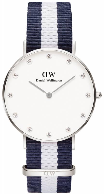 Γυναικείο ρολόι Daniel Wellington Glasgow Silver 34,00mm 0963DW 0963DW Ατσάλι