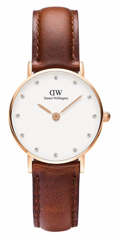 Ρολόι Daniel Wellington Classy St Mawes Rose gold 26,00mm 0900DW 0900DW Ατσάλι