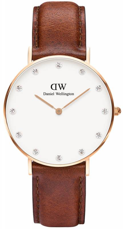 Γυναικείο ρολόι Daniel Wellington Classy St Mawes Rose gold 34,00mm 0950DW 0950DW Ατσάλι