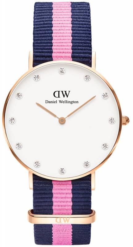 Ρολόι Daniel Wellington Classy Winchester Rose gold 34,00mm 0952DW 0952DW Ατσάλι