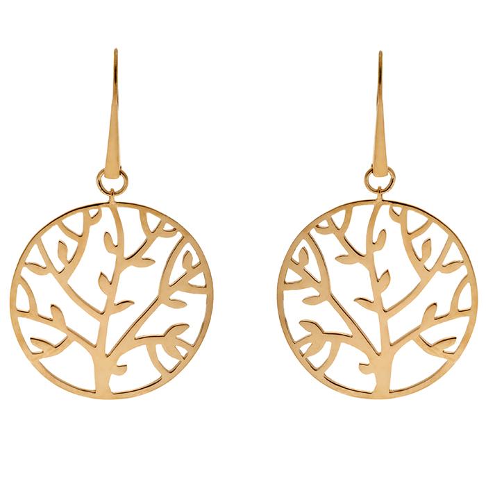 Σκουλαρίκια Honor Tree of life E6 E6 Ασήμι fashion jewels honor σκουλαρίκια