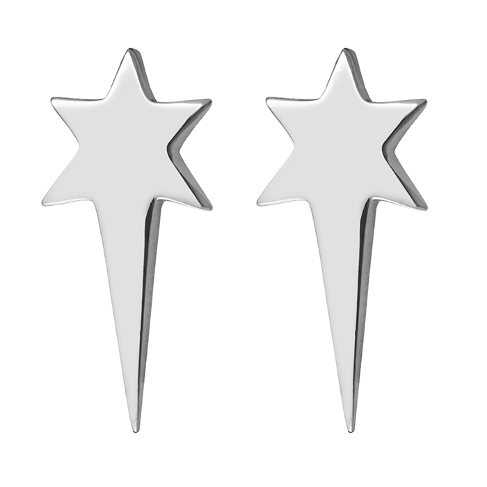 Earrings Stars Honor E21 E21 Ορείχαλκος