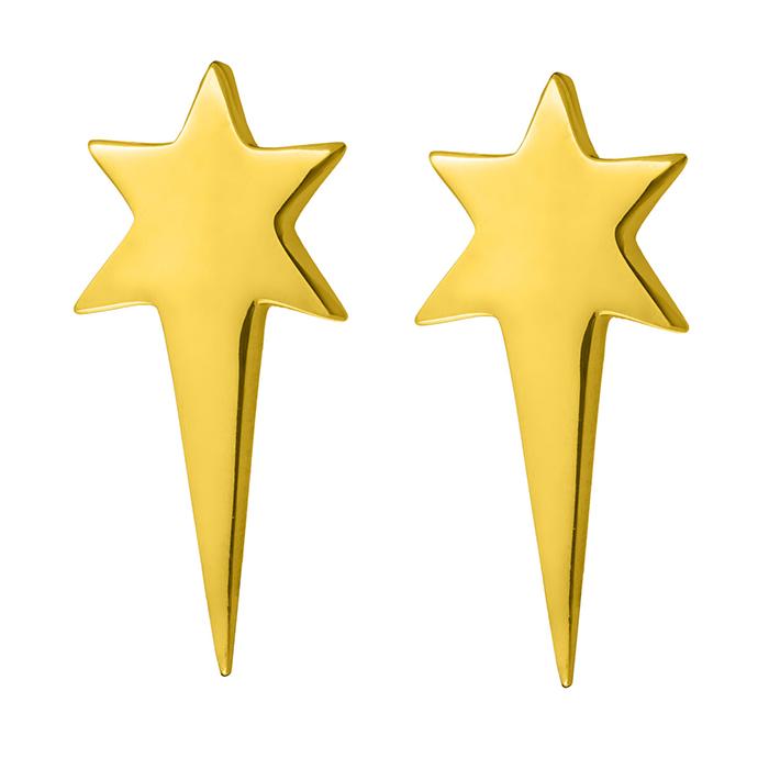 Σκουλαρίκια Stars E22 E22 Ορείχαλκος fashion jewels honor σκουλαρίκια