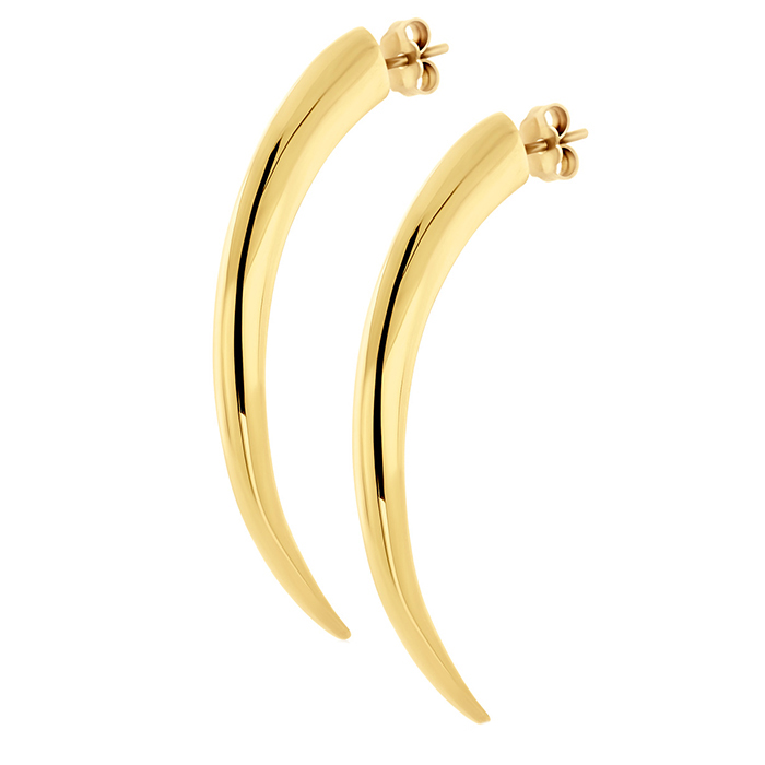 Earrings Tiger Clows E31 E31 Ασήμι