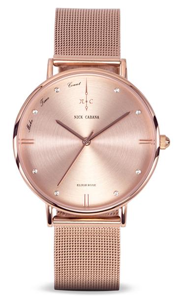 Ρολόι Nick Cabana Elixir petite rose NC130 NC130 Ατσάλι
