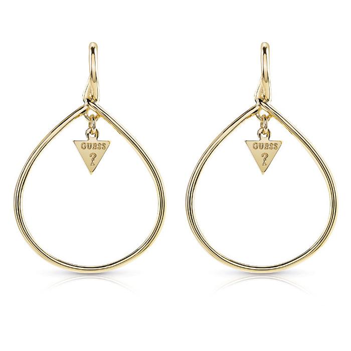 Σκουλαρίκια επίχρυσα Guess UBE84030 UBE84030 Ορείχαλκος fashion jewels guess σκουλαρίκια