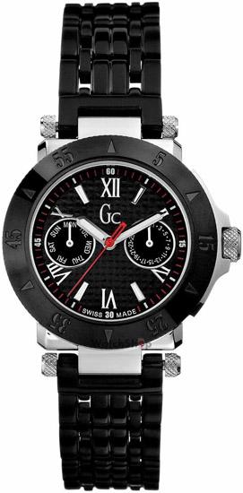 Γυναικείο Ρολόι GC από Μαύρο Ανωξείδωτο Ατσάλι I43002L1 Ατσάλι
