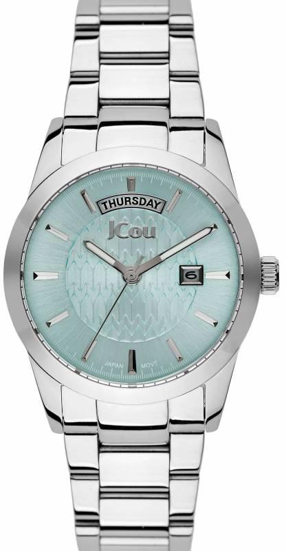 Ρολόι JCou Princess Stainless Steel Bracelet JU15085-2 JU15085-2 Ατσάλι ρολόγια jcou