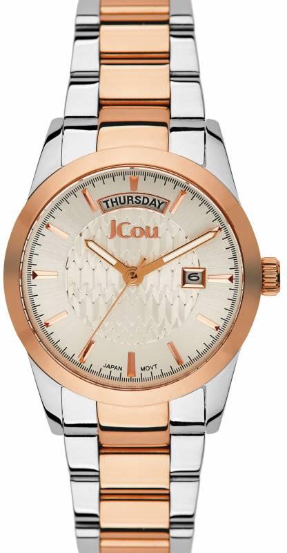 Γυναικείο ρολόι JCou Princess Bracelet JU15085-3 JU15085-3 Ατσάλι ρολόγια jcou