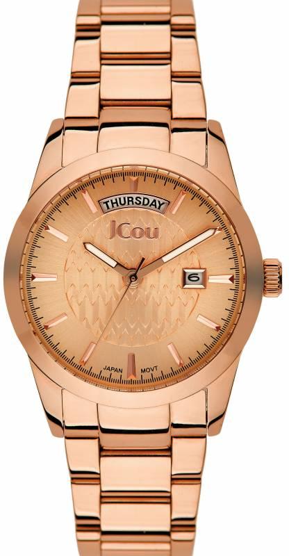 Γυναικείο ρολόι JCou Princess Rose gold Bracelet JU15085-4 JU15085-4 Ατσάλι