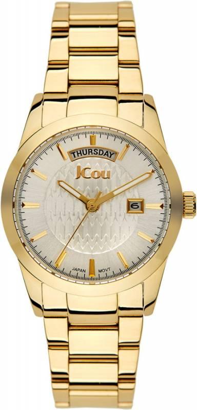 Γυναικείο ρολόι JCou Princess gold bracelet JU15085-6 JU15085-6 Ατσάλι