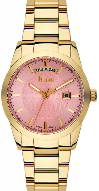 Ρολόι JCou Princess gold bracelet JU15085-7 JU15085-7 Ατσάλι