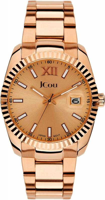 JCou Queen Rose Steel JU15086-3 JU15086-3 ρολόγια jcou