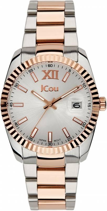Ρολόι γυναικείο JCou Queen Two Tone Bracelet JU15086-6 JU15086-6