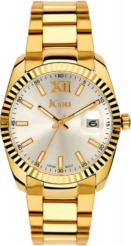 Γυναικείο ρολόι JCou Queen Gold Bracelet JU15086-8 JU15086-8 Ατσάλι