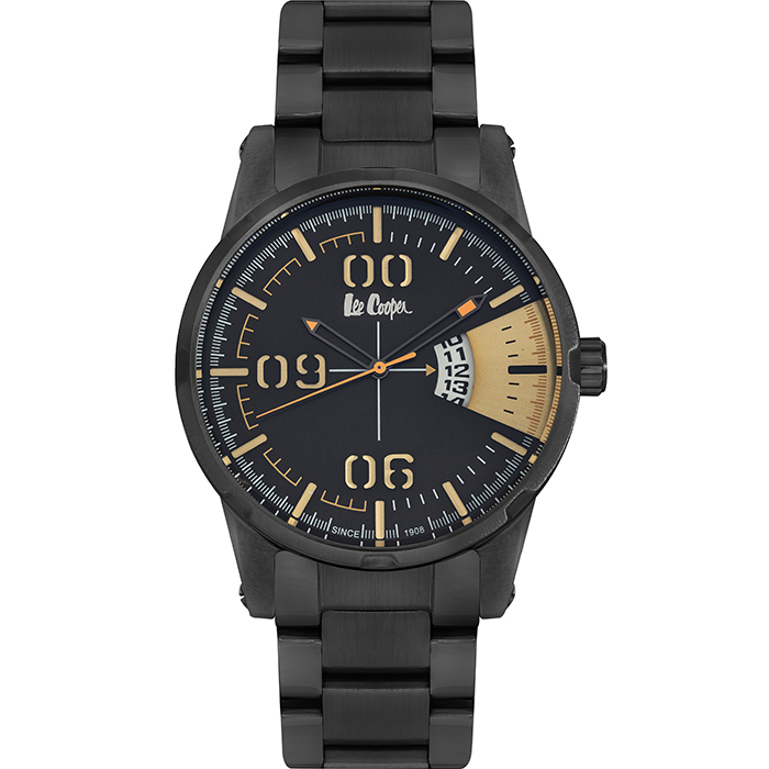 Lee cooper Men's Black bracelet LC06196.050 LC06196.050 Ατσάλι