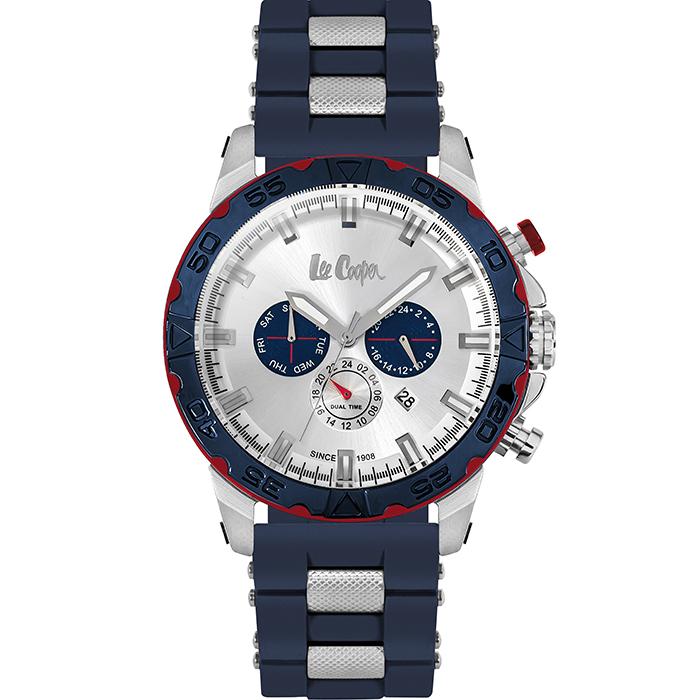 Ρολόι Lee cooper Blue Rubber strap LC06238.339 LC06238.339