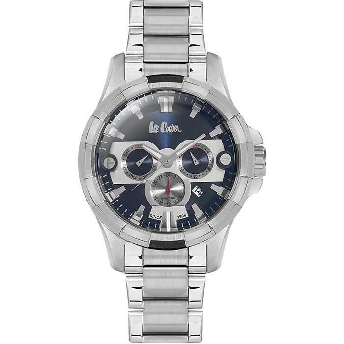 Lee cooper ρολόι χειρός Silver Bracelet LC06249.390 LC06249.390 Ατσάλι