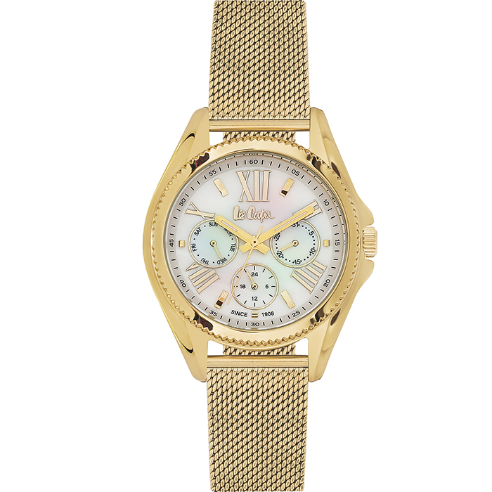 Lee cooper Ladies Gold Stainless Steel Bracelet LC06276.120 LC06276.120 Ατσάλι