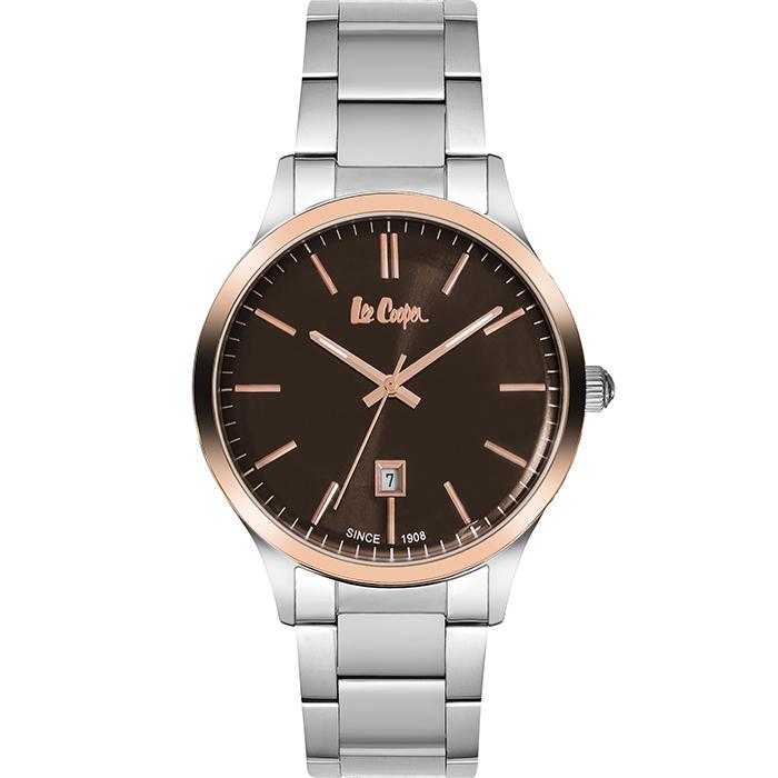 Lee cooper αντρικό ρολόι Stainless steel Bracelet LC06292.540 LC06292.540 Ατσάλι