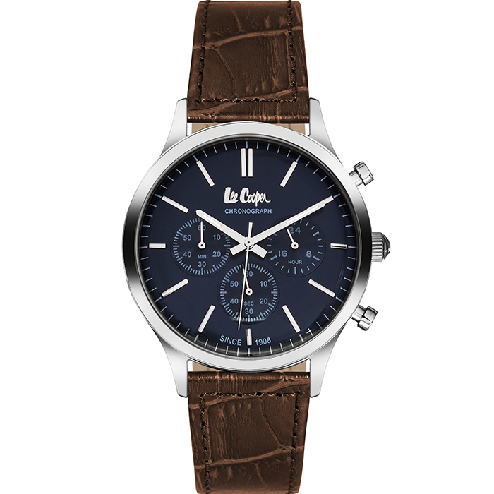 Αντρικό ρολόι Lee cooper Brown leather strap LC06293.392 LC06293.392