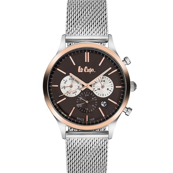 Lee cooper αντρικό ρολόι steel Bracelet LC06294.540 LC06294.540 Ατσάλι
