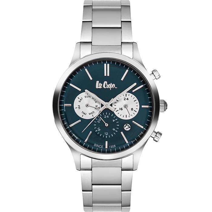 Αντρικό ρολόι με μπλε καντράν και μπρασελέ LC06295.370 LC06295.370 Ατσάλι