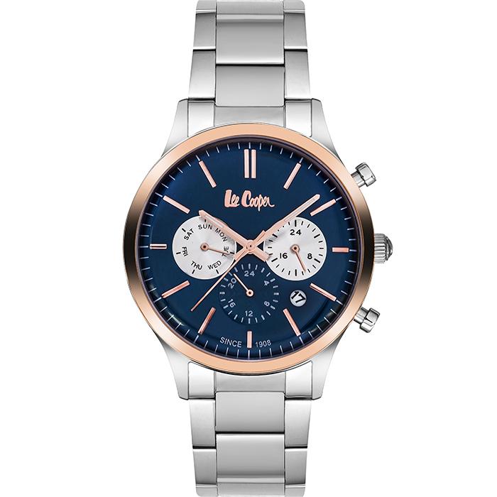 Αντρικό ρολόι Lee cooper Silver Bracelet LC06295.590 LC06295.590 Ατσάλι