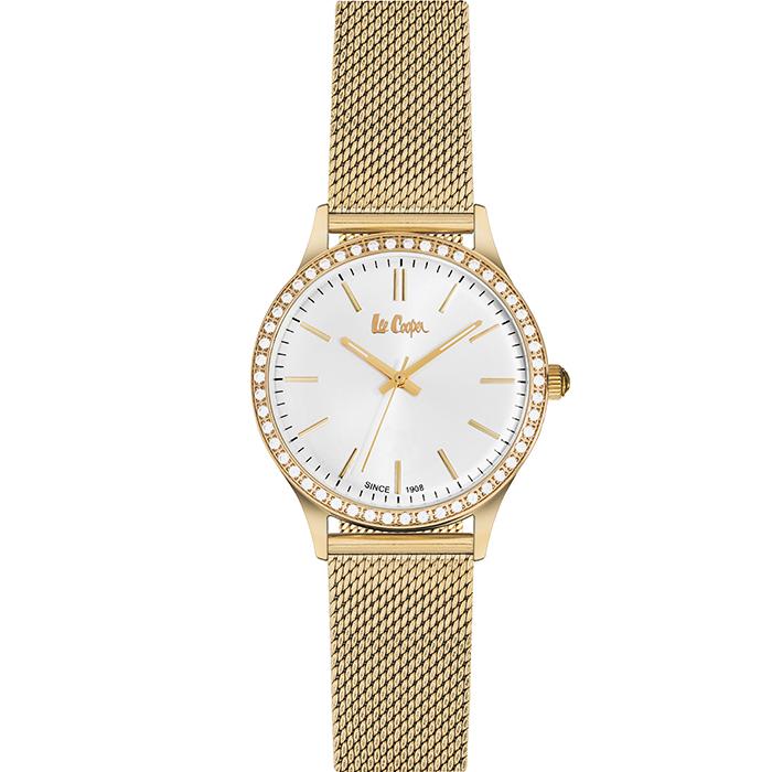 Lee cooper Ladies Gold Bracelet & Crystals LC06304.130 LC06304.130 Ατσάλι