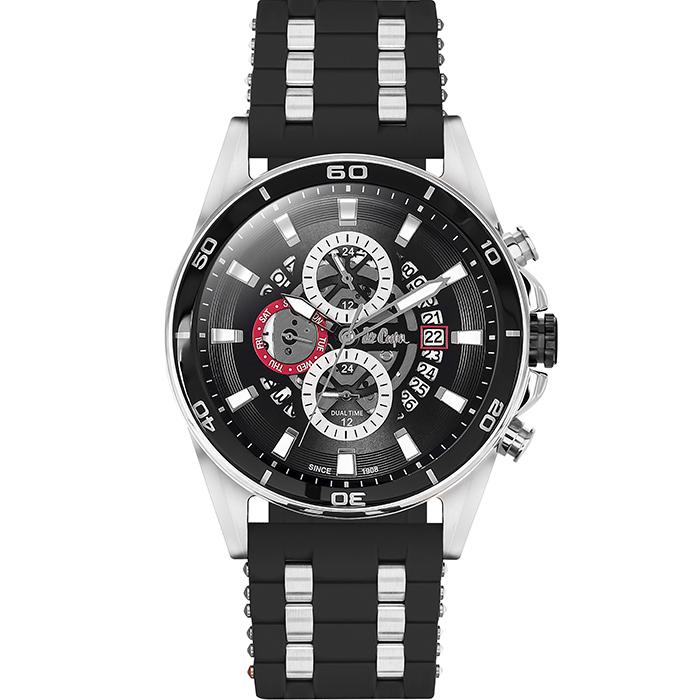 Αντρικό ρολόι Lee cooper Black Rubber LC06307.351 LC06307.351