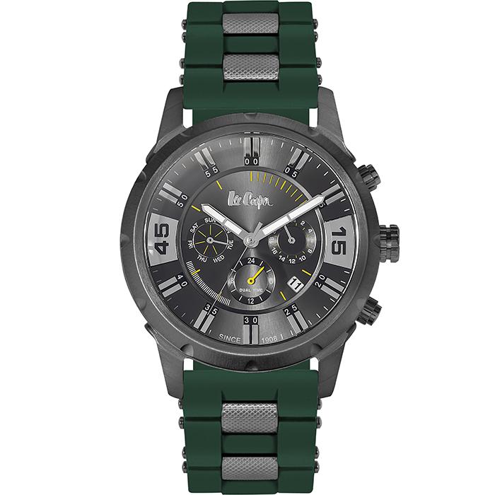 Ρολόι Lee cooper Green Rubber strap LC06311.065 LC06311.065