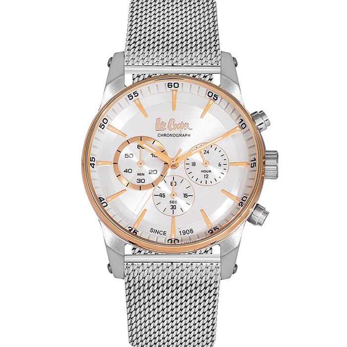 Lee cooper Silver bracelet chronograph LC06356.530 LC06356.530 Ατσάλι