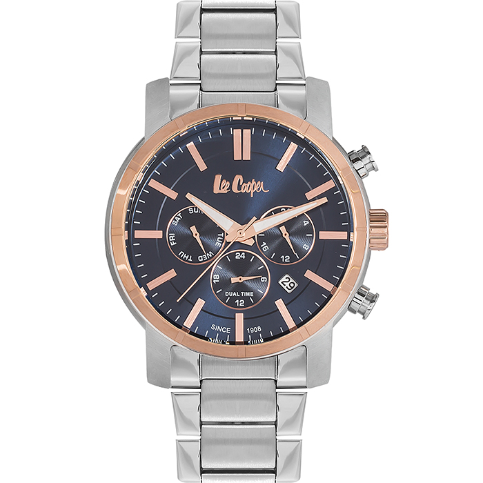 Lee cooper men's Multifunction Rose gold case LC06358.590 LC06358.590 Ατσάλι