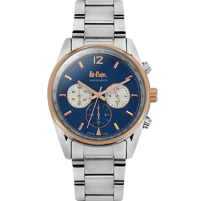 Lee cooper Silver bracelet Chronograph LC06416.590 LC06416.590 Ατσάλι